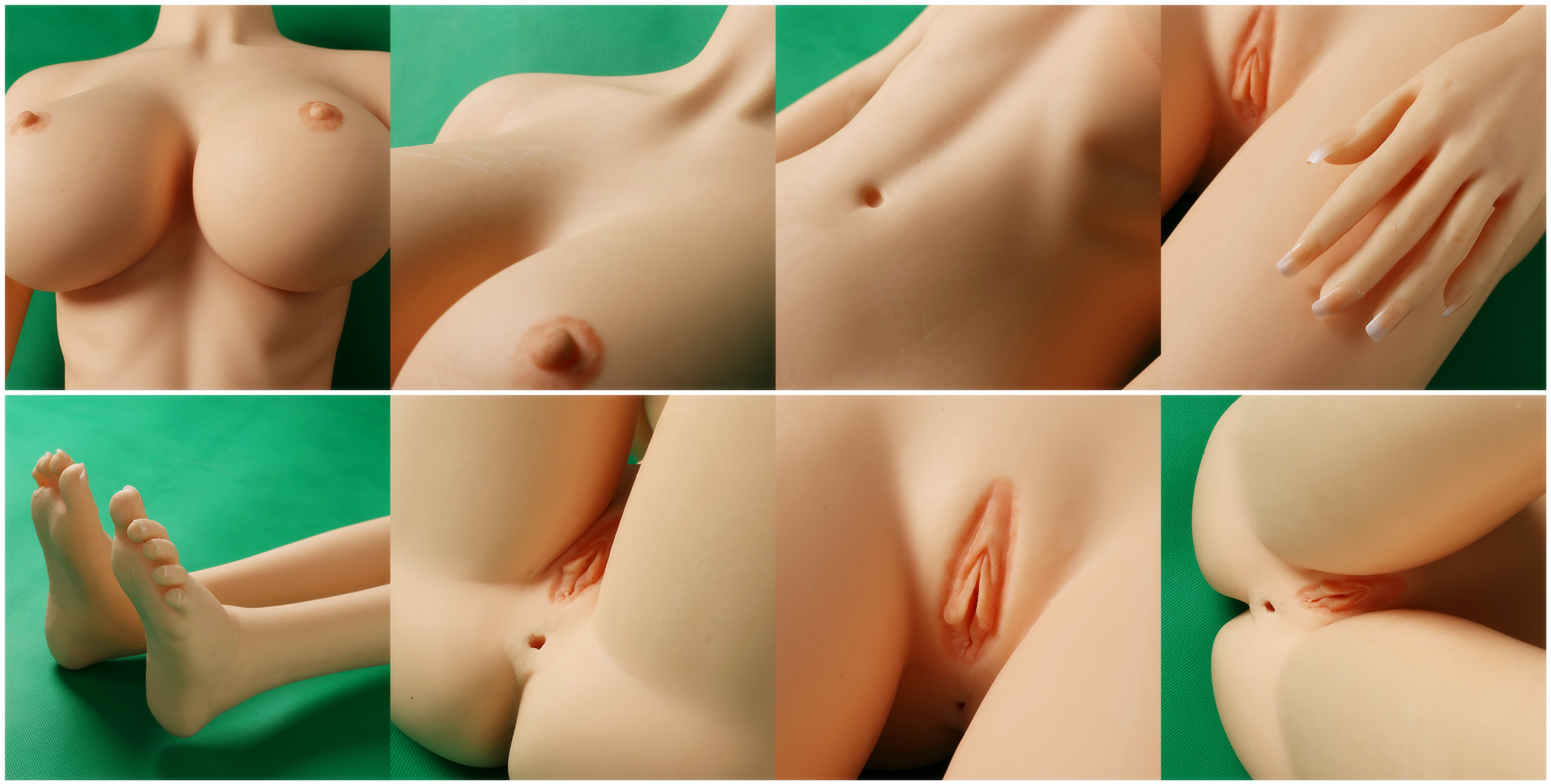 detail of sex doll